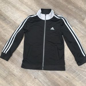 Adidas jogger zip up sweater coat